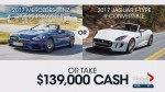 Foothills Hospital Home Lottery: Mercedes-Benz or Jaguar