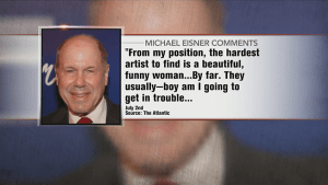 Former Disney CEO Michael Eisner drawing heat over comments about female actresses