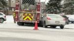 Calgary's return to winter creates traffic chaos