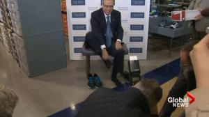 Oliver honours Flaherty with pre-budget shoe change