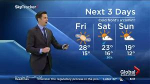 Saskatoon weather outlook – July 3