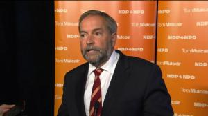 Tom Mulcair says Canada needs to get back on board with world's environmental goals