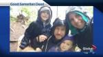 Good Samaritan, mother dies after being struck on TransCanada Highway