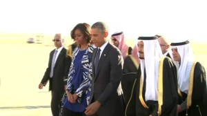 President Obama makes unscheduled trip to Saudi Arabia