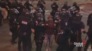 Chaos erupts on Charlotte streets for second straight night