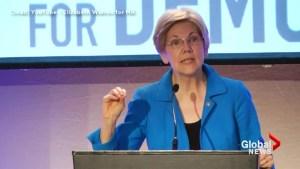 'Small, insecure moneygrubber': Sen. Elizabeth Warren blasts Donald Trump