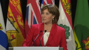 B.C. Premier Christy Clark hopes carbon price deal can be done, but it must be fair for west