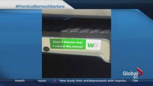 #PrenticeBlamesAlbertans