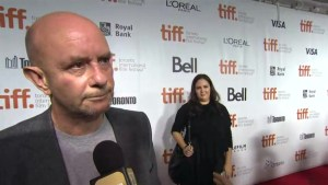 "TIFF Red Carpet: Writer Nick Hornby from the film ""Wild"""