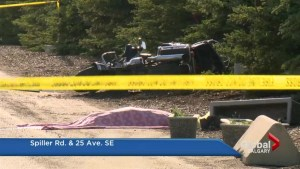 Motorcyclist dead after crash with concrete barrier