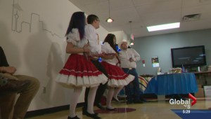 Global Calgary welcomes Calgary Metis Cultural Dancers