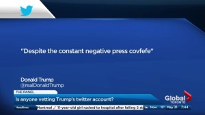 Covfefe – the Trump tweet that set social media ablaze