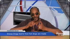 Snoop Dogg disgusted by hot dogs
