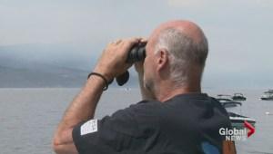 Crews make progress against West Kelowna fire