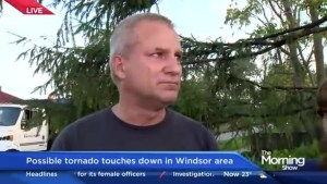 Emotional Windsor, Ont. resident describes shielding wife from powerful storm