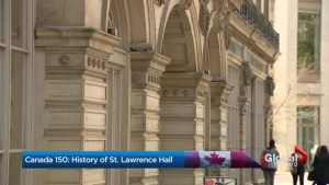 Canada 150:  A tribute to Toronto's St. Lawrence Hall