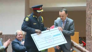 Toronto police chief defends United Way donation draw
