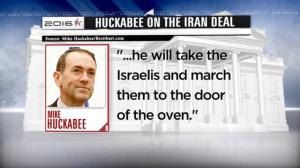 US Presidential candidate Mike Huckabee makes controversial comments about Iran deal