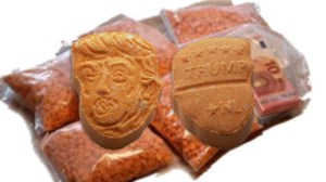 German police seize thousands of Trump-shaped ecstasy pills