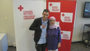 Red Cross Young Humanitarian of the Year recipient joins Global News Morning