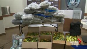 Record-breaking fentanyl bust in Edmonton