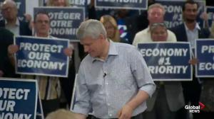 Harper says Trudeau's promise on SmartTrack will only add to deficit