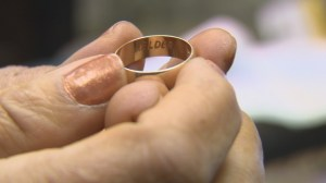 Fairytale ending for missing wedding ring