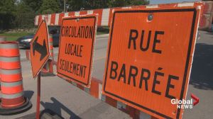 Montreal in the throes of construction blitz