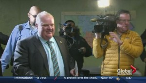 Playing Rob Ford in a musical