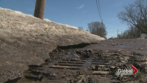 Pothole repair delayed thanks to snow