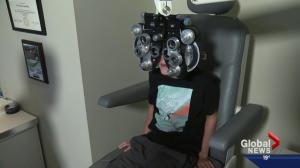 Back-to-school optometrist visit