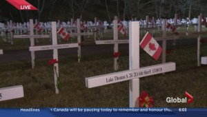 Remembrance Day 2016: a list of events in Calgary