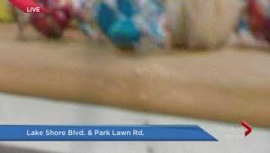 Woman killed crossing busy Etobicoke intersection