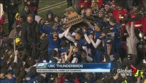 UBC Vanier Cup run