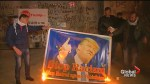 Palestinians protest Trump's possible plans to move U.S. embassy to Jerusalem