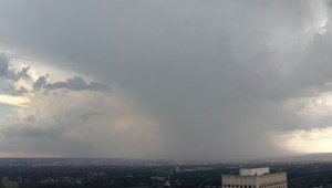 Timelapse: Thunderstorm slams Edmonton