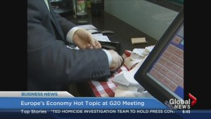 BIV: Europe's economy hot topic at G20 meeting
