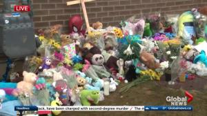 Vigil at Edmonton church Tuesday night for toddler Anthony Raine