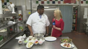 Chef Eraj with summer meal ideas on Global News Morning