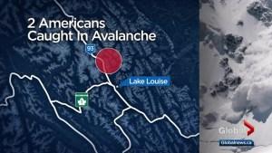 Two American snowshoers presumed dead in Lake Louise