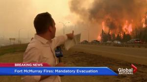 Alberta premier focuses on safety of 70,000 Fort McMurray residents