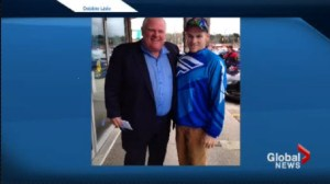 Rob Ford spotted in Bracebridge