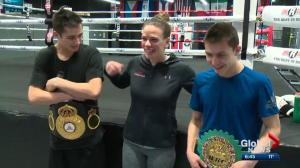 Documentary profiles world champion Edmonton boxer