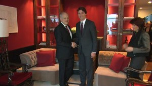 World Economic Forum: Trudeau remains optimistic about Canada's economy on Day 2