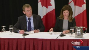 Ebola response: Canadian health officials speak