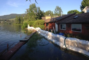 Wood Lake rising, residents hopeful they're ready