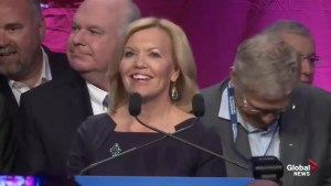 Christine Elliott delivers concession speech after losing PC leadership race