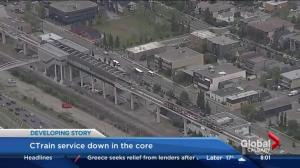 CTrain service down in the core