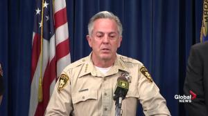 Police not ruling out Las Vegas strip rampage as terrorism