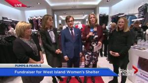 Pumps and pearls fundraiser for West Island Women's Shelter
